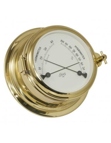 Midi 155 - Thermometer / Hygrometer - Messing - Schatz 1881 - Scheepsinstrumenten - 450 HT - €265,00