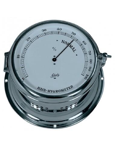 Royal 180 - Haarhygrometer - Verchroomd - Schatz 1881 - Scheepsinstrumenten - 483 H - €305,00