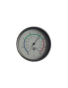 Thermometer Mini - Glanzend RVS - 90 mm