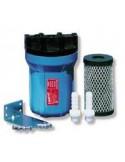 <p>De kleine drinkwater filter set van Yachticon is ideaal bij het filteren van water. Deze wordt geleverd met actief kool cellulosefilter 5 micron en wandbevestiging met schroeven. De drinkwater filter set is 5 inch voor 13 mm aansluiting.</p>