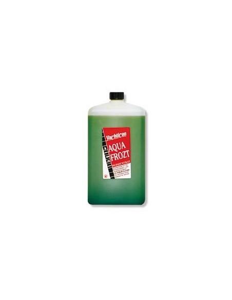 <p>Aqua Frozt voorkomt dat je drinkwater, koelwater en toiletwater niet bevriezen bij lange stilstand van het water, dan hoef je je watersysteem op je boot niet leeg te laten lopen. 2 liter Aqua Frozt gecombineerd met 3 liter water geeft een bescherming tot<strong> -</strong>21 ºC<strong>. <br />Inhoud:</strong> 2 liter</p>