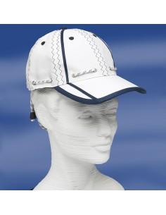 Zeildoek Cap Met Verstelbaar Koord En Klem - Baseballcap - Navy