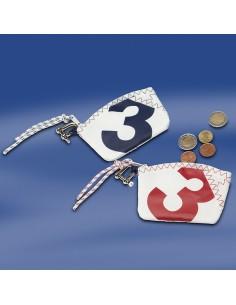 Zeildoek Sleutel Etui - Sea Key Wallet - Rood