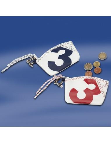 Zeildoek Sleutel Etui - Sea Key Wallet - Rood - Trend Marine - Zeildoek Tassen - TM1052.3 - €11,00