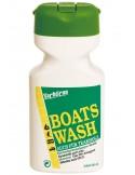 <p>De Boats Wash boot shampoo reinigt in een mum van tijd alle materialen inclusief teakhout en kan gebruikt worden met ZOUT water hoe handig is dat! de shampoo laat een protectieve laag achter en kan dagelijks gebruikt worden. Tevens is de Boats Wash Shampoo is 98% biologisch afbreekbaar. <br /><strong>Inhoud:</strong> 500 ml</p>