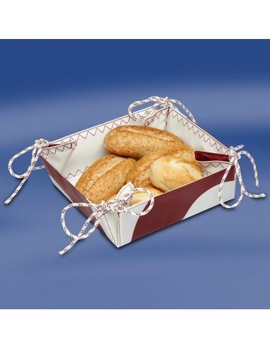 Zeildoek Broodmandje - Bread Basket - Rood - Trend Marine - Zeildoek Tassen - TM1017.3 - €19,00