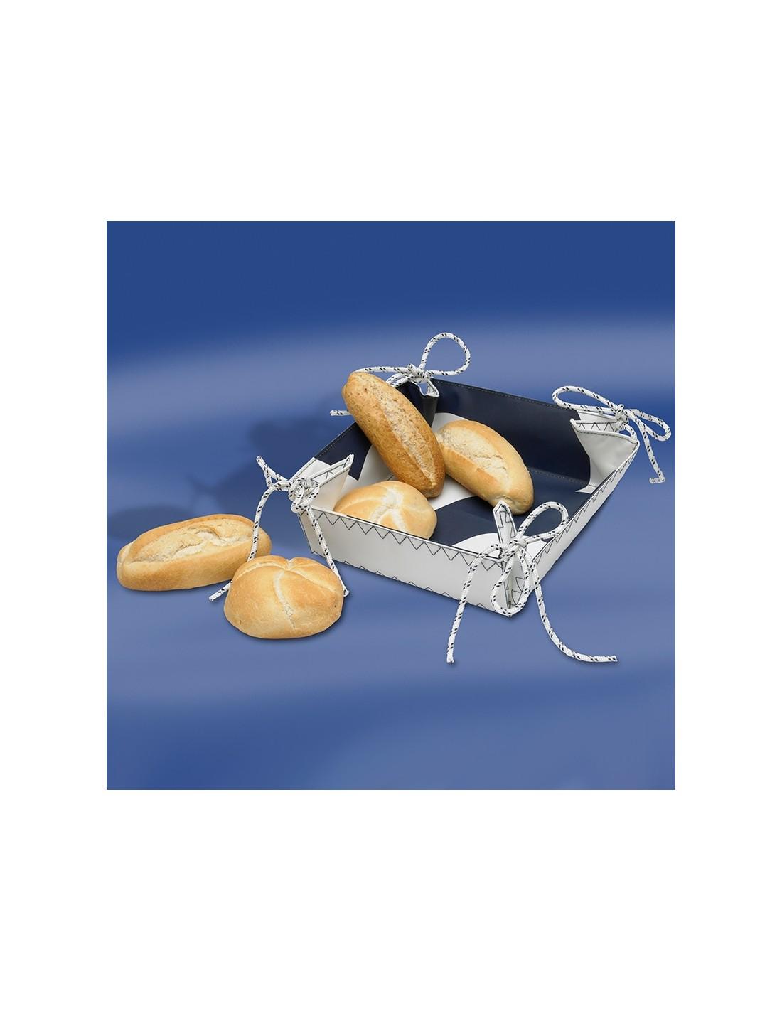 Zeildoek Broodmandje - Bread Basket - Navy - Trend Marine - Zeildoek Tassen - TM1017.1