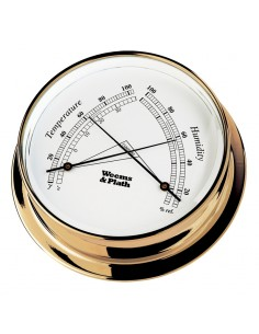 Endurance I 125 - Thermometer / Hygrometer - Messing - 152 mm - Weems & Plath - Scheepsinstrumenten - BAC3102