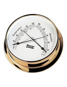 Endurance I 85 - Thermometer / Hygrometer - Messing - 108 mm - Weems & Plath - Scheepsinstrumenten - BAC3117