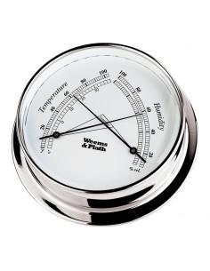 Endurance I 85 - Thermometer / Hygrometer - Verchroomd - 108 mm
