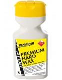 <p>De Premium Hard Wax met teflon van yachticon voorkomt vuil en algenaanslag aan de onderzijde van het schip, waardoor het schip sneller door het water glijd. Deze Premium hard wax was is geschikt voor alle verf, kunstof en gelcoates en houd langer dan de meeste wassoorten. De was is voor hand en machinegebruik en is gemakkelijk te gebruiken. <br /><strong>Inhoud:</strong> 500 ml</p>
