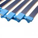 Verstelbare Lattenbodem - Rolsysteem - 90 x 200 cm - 30 Latten