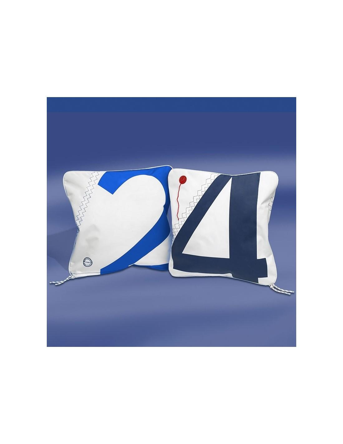 Zeildoek Kussen - Cushion - Navy Royal Blue