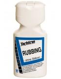 <p>Dit fijne Rubbing polijst middel verwijdert aanslag, oxidatie, krasjes van fiberglas, gelcoats en geverfde oppervlakken. Tevens hersteld het vervaagde kleuren en hersteld gel-coat met een snelle formule. Het Rubbing fijne polijstmiddel van Yachticon is gemakkelijk te verwerken, polijst krasvrij, en laat een prachtige mooie glans achter. <br /><strong>Inhoud:</strong> 500 ml</p>
