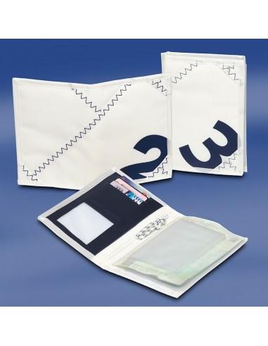 Zeildoek Rijbewijsmapje - Sea License Wallet - Navy - Trend Marine - Zeildoek Tassen - TM1053.1 - €11,50