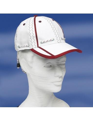 Zeildoek Cap Met Verstelbaar Koord En Klem - Baseballcap - Rood - Trend Marine - Zeildoek Tassen - TM2001.3 - €17,50