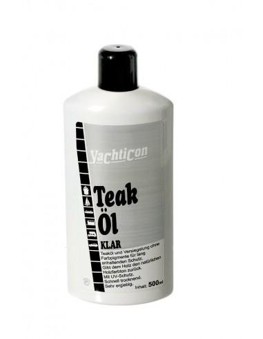 Teak Olie - Helder - Zilver - 500 ml - Yachticon - Onderhoud - 02.0738.00 - €18,20