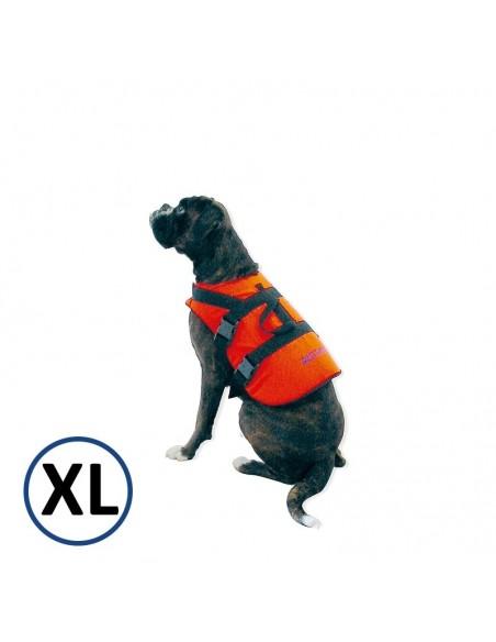 <p>Speciaal zwemvest voor jouw hond aan boord! Dit zwemvest van The Captain's Collection is voor jouw favoriete huisdier en is voor honden met een gewicht boven de 40 kg. Dit honden zwemvest is in verschillende maten te verkrijgen en heeft verstelbare lichaamsriemen om het vest goed vast te maken.<br /><strong>Maat:</strong>xl</p>
