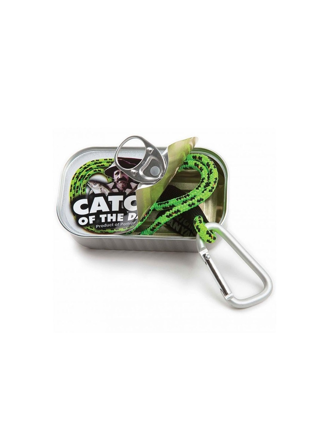Lanyard / Keycord In Blikje - Catch Off The Day - The Captain's Collection - Nautische Accessoires - OL3805