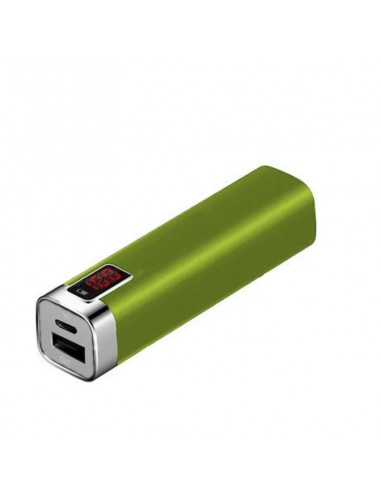PowerBank 2600 mAh - Mobiele Oplader - Limegroen - The Captain's Collection - Nautische Accessoires - PB2600GR - € 19,00