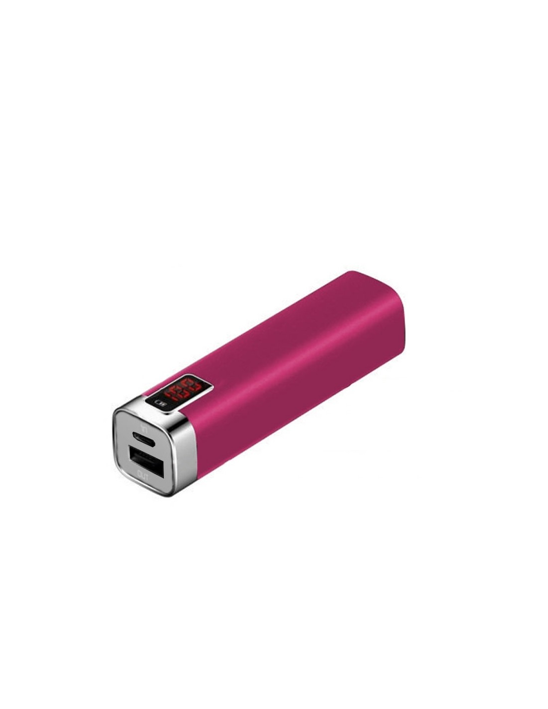 PowerBank 2600 mAh - Mobiele Oplader - Roze - The Captain's Collection - Nautische Accessoires - PB2600RO