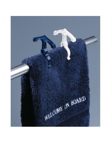 Railingknijpers - 5x Wit - 5x Blauw - Welcome On Board - Nautische Accessoires - 10219801 - €8,95