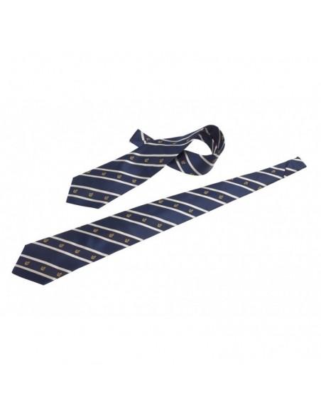 <p>Deze mooie stropdas is erg leuk om cadeau te doen! Omdat hij erg origineel is vanwege de ingeweven ankertjes. De stropdas behoort tot de collectie van The Captain's Collection en is gemaakt van zijde. <br /><strong>Kleur:</strong> navy / wit</p>
