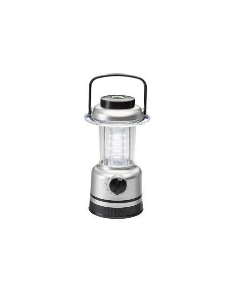 <p>Deze draagbare led hanglamp of tafellamp is zeer handig omdat deze op batterijen en leds werkt zodat de lamp niet warm wordt dus heel makkelijk is te verplaatsen en het dus ook overal neer gezet kan worden. Heel erg handig voor op een boot, tent, caravan enz. De lamp heeft een geïntegreerd kompas in de bovenzijde.</p>