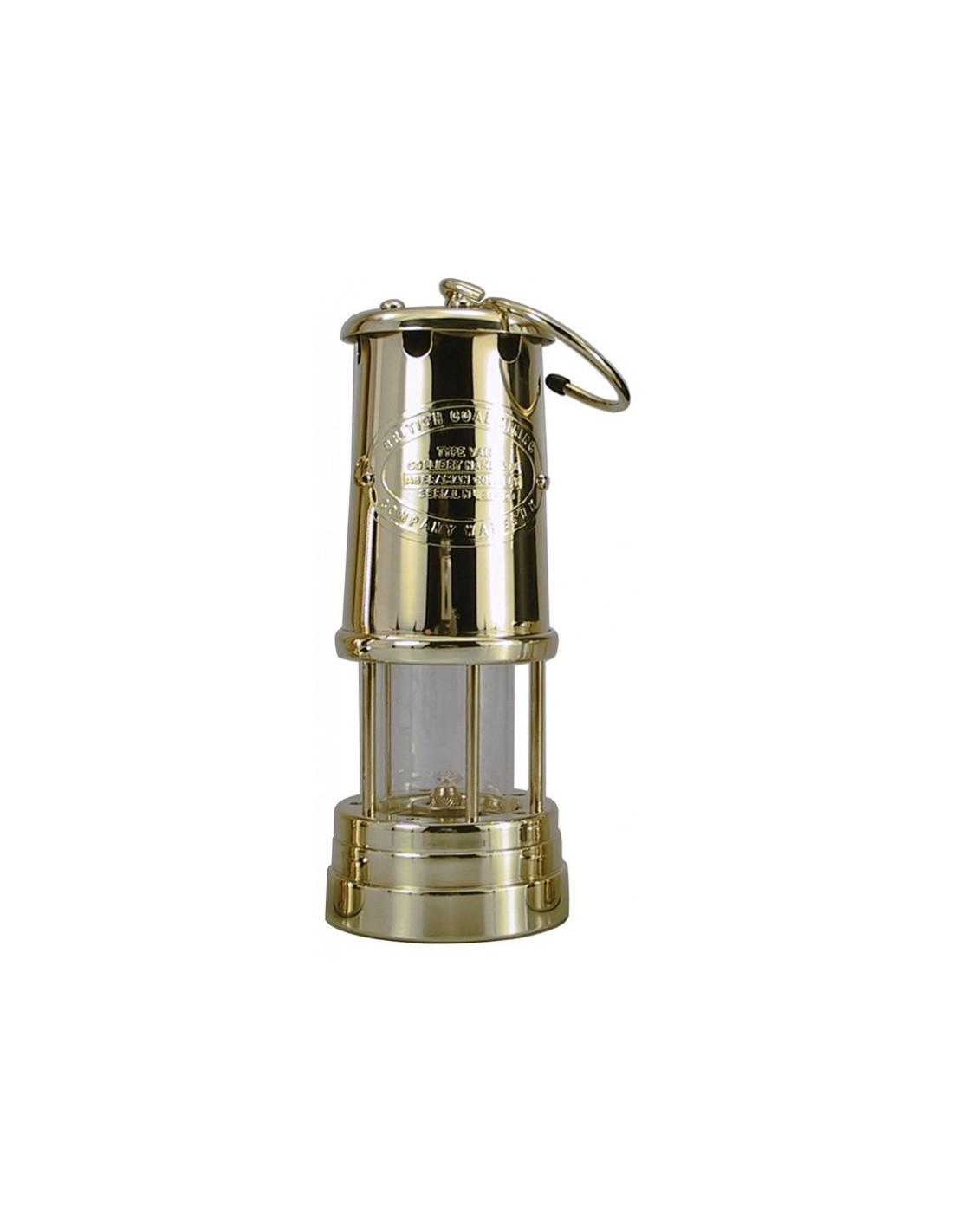 Welsh Miner Olielamp - Messing - Groot - Delite - Lampen - 1897M