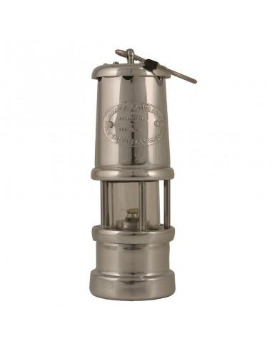Welsh Miner Olielamp - Vernikkeld Aluminium - Klein - Delite - Lampen - 1896N - €115,00