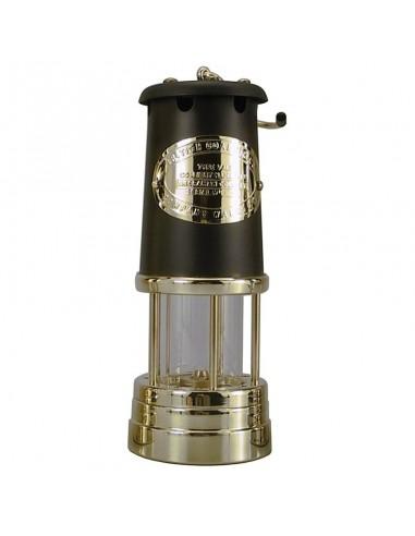 Welsh Miner Olielamp - Messing / Zwart - Groot - Delite - Lampen - 1897S - €129,00