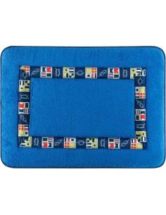 Colors - Badmat Met Anti-Slip - Lichtblauw - 60 x 45 cm