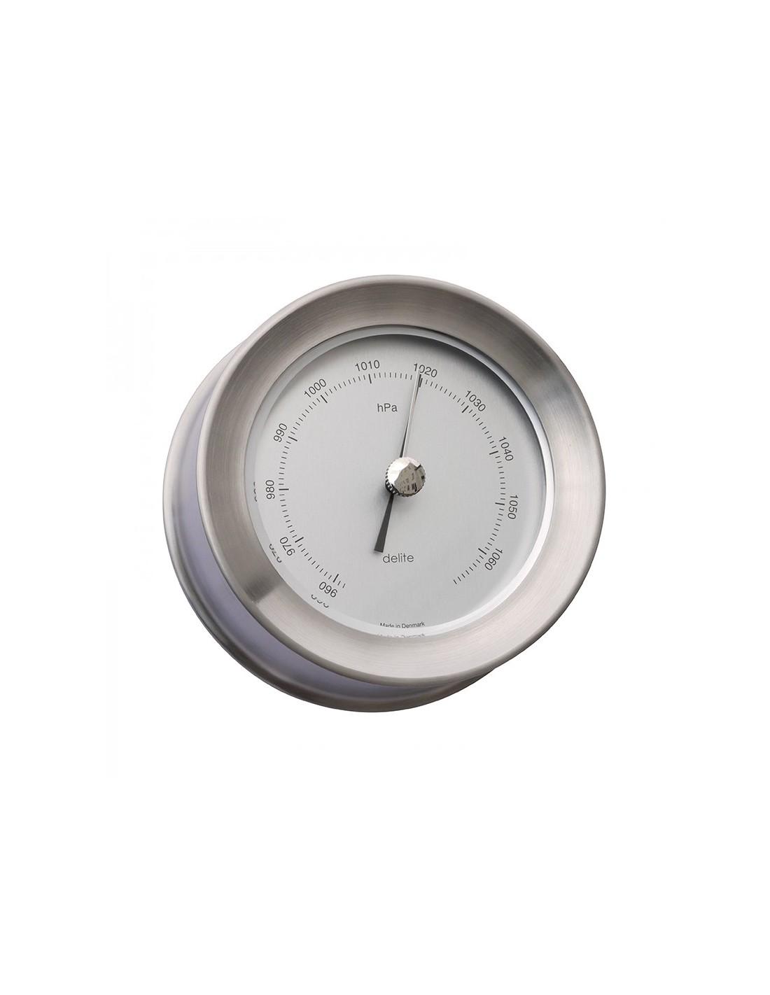 Zealand Barometer - Mat RVS - 110 mm