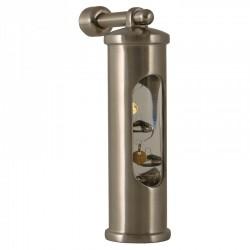 Galileiglas Met Ophanghaak - Geborsteld RVS - Delite - Scheepsinstrumenten - 550705 - €105,00