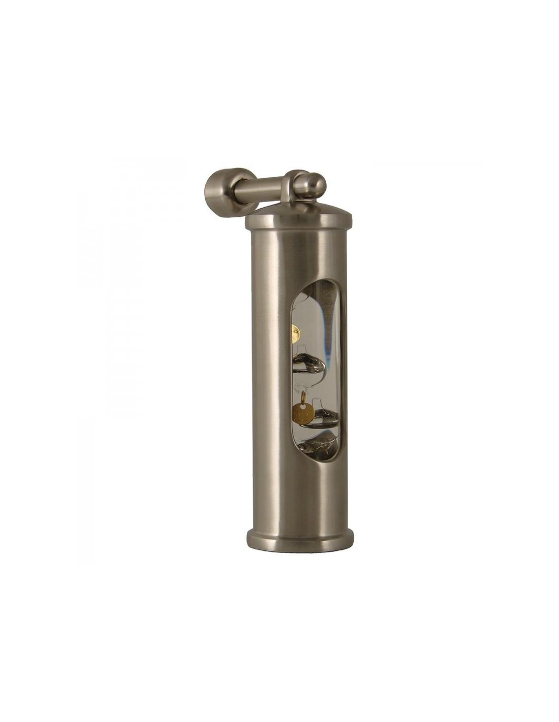 Galileiglas Met Ophanghaak - Geborsteld RVS