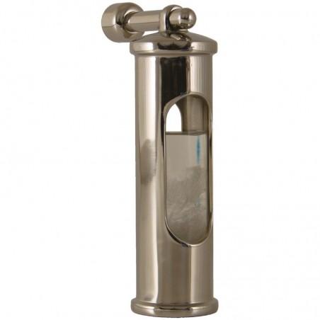 <p>Dit stormglas met ophanghaak is de perfecte waarschuwer voor heftige weersomslagen! In het stormglas zit een vloeistof en die kristalliseert als er grote weersomslagen aan komen en het stormglas is verder gemaakt van glanzend rvs. Dit stormglas met opghanghaak behoord tot het prachtige merk Delite en is zowel functioneel als decoratief! <br /><strong>Afmetingen: </strong>145 mm <strong>Materiaal:</strong> glanzend rvs</p>