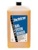 <p>De koel systeem reiniger reinigt enkel en dubbel circuit koelsystemen en warmtewisselaar, verwijdert zout, kalk en roest deposito's. Deze koel systeem reiniger van Yachticon zorgt voor een optimale motorkoeling en betrouwbaarheid en is bruikbaar voor alle materialen. 2 liter Systeem reiniger is voldoende voor het koelen tot ongeveer 70 liter (100 ml tot 3,5 liter) <br /><strong>Inhoud:</strong> 2 liter</p>