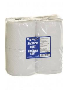 Boot En Caravan - Soft Toilet Papier - Snel Afbreekbaar - 4 Rollen