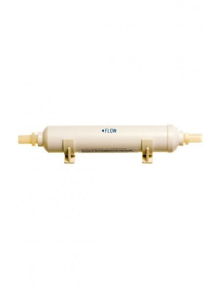 <p>Bij het ontluchtingsfilter voor de vuilwatertank heb je geen chemische producten meer nodig voor de afvalwatertank! Het ontluchtingsfilter van Yachticon houd luchtjes tegen die ontsnappen uit de stilstaand watertank en laat jouw boot heerlijk schoon ruiken. Dit ontluchtingsfilter is geschikt voor montage op 3/4'' standaard ventilatie slang. <br /><strong>Afmetingen:</strong> 280 mm (zonder weerhaakjes), 55 mm diameter</p>