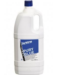 Pury Blue - Voor Mobiel Toilet En Vuilwatertank - Reiniger - 2 Liter