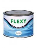 <p>Deze flexibele rubberverf is geschikt voor alle opblaasbare boten van neopreen en hypalon, en andere elastische oppervlakken zoals banden, vinyl en kunstleder! De rubberverf heeft een uitstekende hechting en elasticiteit en is na ongeveer 6 uur drogen overschilderbaar. Aan te brengen met kwast of verfspuit. <br /><strong>Inhoud:</strong> 500 ml (goed voor o.a. 8-10 m²) <strong>Kleur:</strong> wit</p>