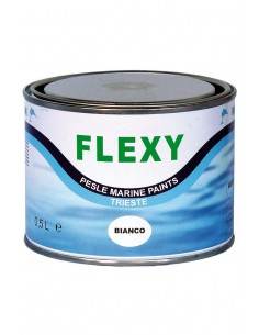 Flexibele Rubberverf - Wit - 500 ml