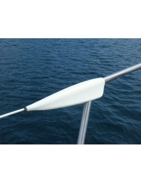 Sail Defender Ocean Lifeline Covers - Set Van 2 - Wit - Ocean - Fenders - 135 - €62,50