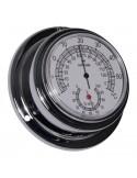 Thermometer / Hygrometer - Chroom - 95 mm
