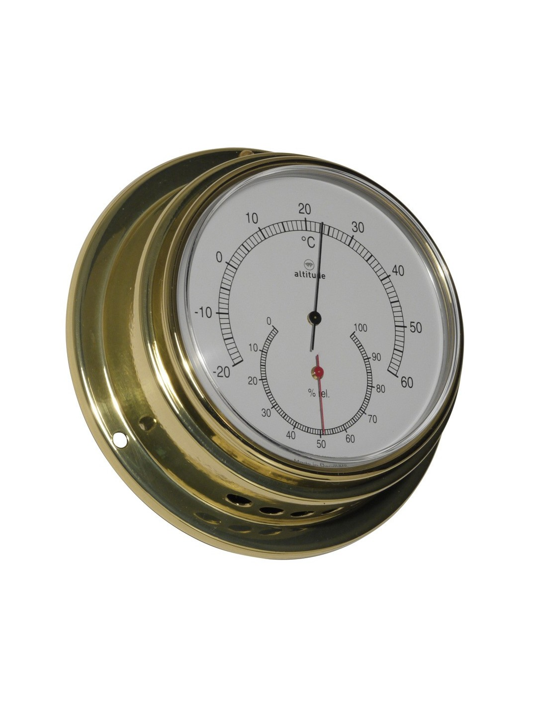 Thermometer / Hygrometer - 125 mm - Altitude - Scheepsinstrumenten - 852 TH