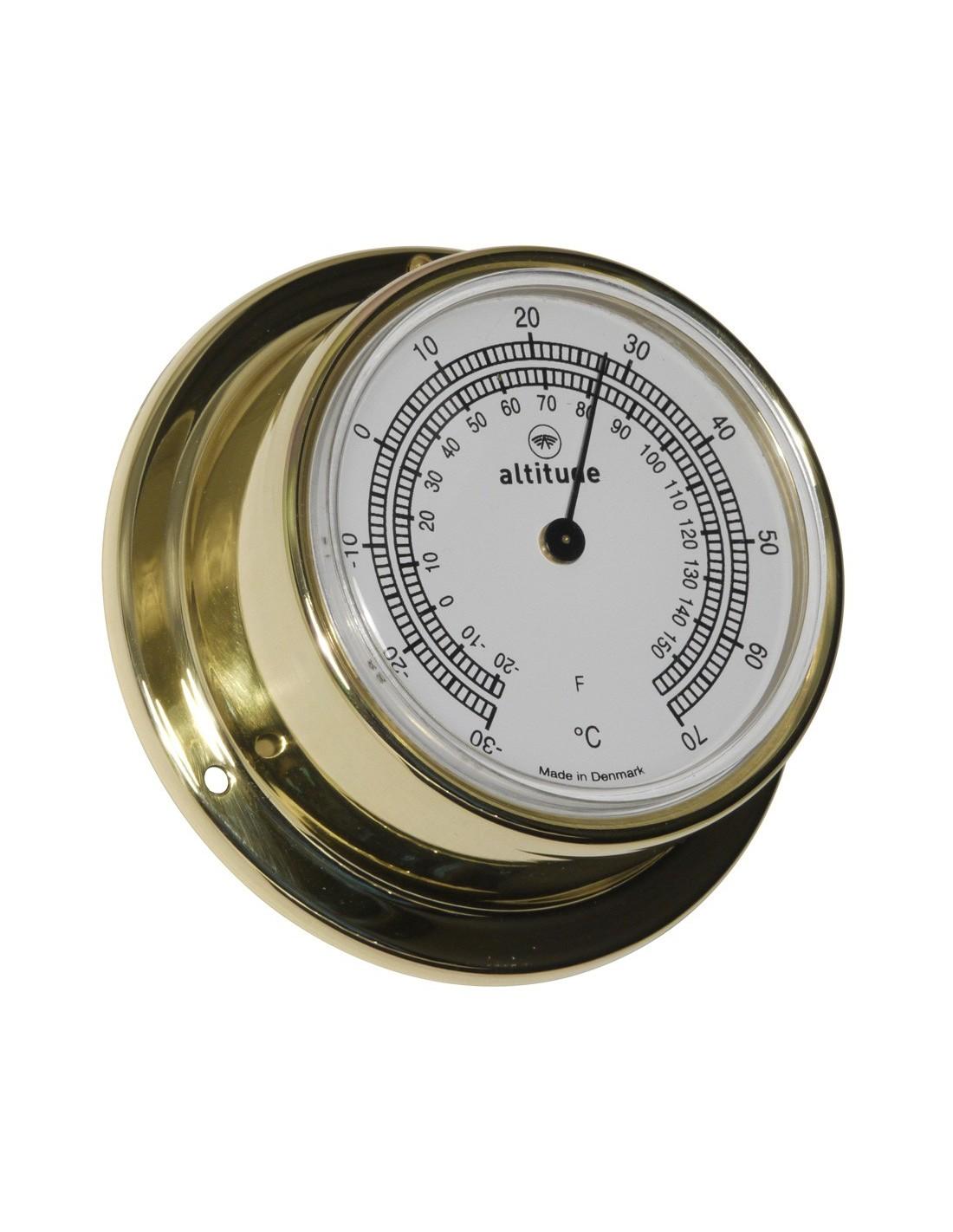 Thermometer - 71 mm - Altitude - Scheepsinstrumenten - 838 T