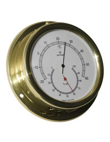 Thermometer / Hygrometer - 127 mm - Altitude - Scheepsinstrumenten - 858 TH - €65,00
