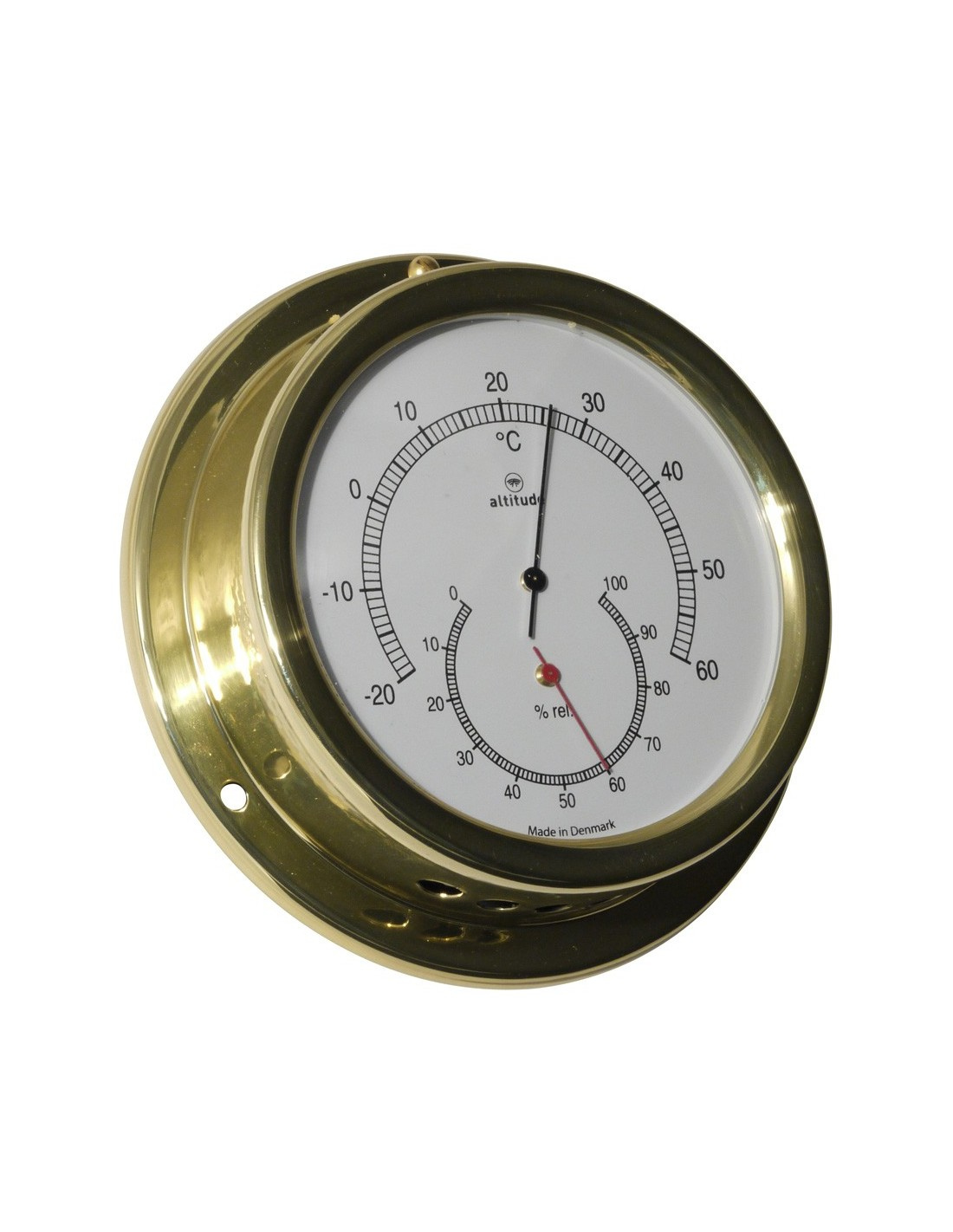 Thermometer / Hygrometer - 127 mm - Altitude - Scheepsinstrumenten - 858 TH