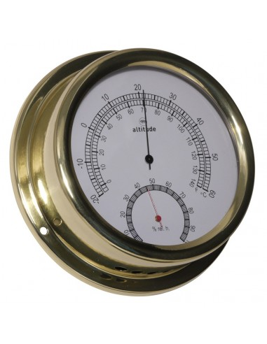 Thermometer / Hygrometer - 150 mm - Altitude - Scheepsinstrumenten - 866 TH - € 85,00