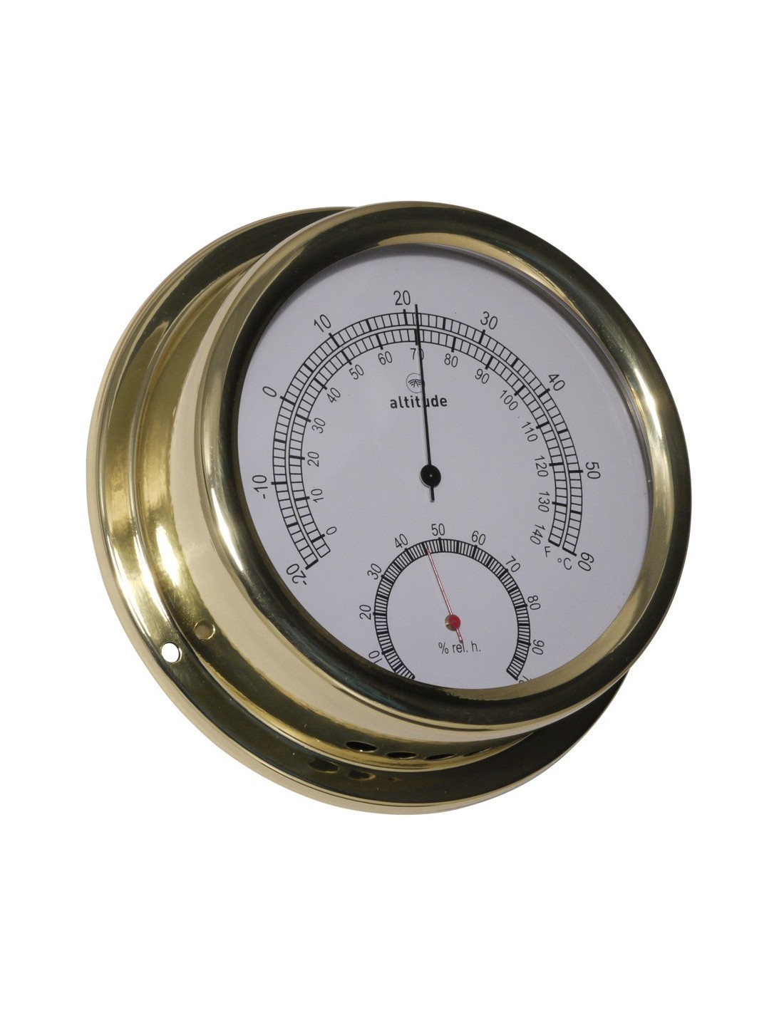 Thermometer / Hygrometer - 150 mm - Altitude - Scheepsinstrumenten - 866 TH